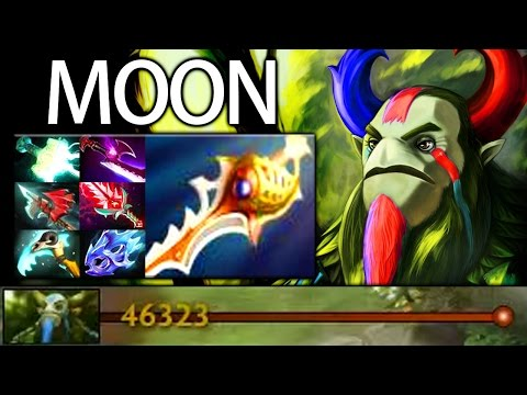 46K Networth Nature Prophet Carry by Moon 7.05 META Dota 2