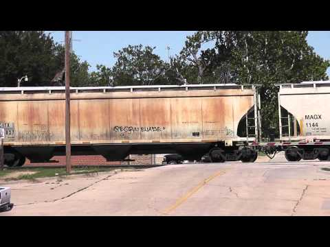 Freight train in Oklahoma City