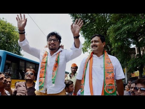 Babul Supriyo's convoy attacked in West Bengal's...