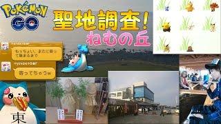 ポケモンGO田舎レアポケモン聖地調査【秋田県 道の駅象潟ねむの丘】