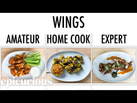 See 3 Cooks Make Yummy Chicken Wings!