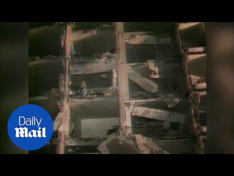 1996: Devastating scenes after bomb kills 19 at US base - Daily Mail