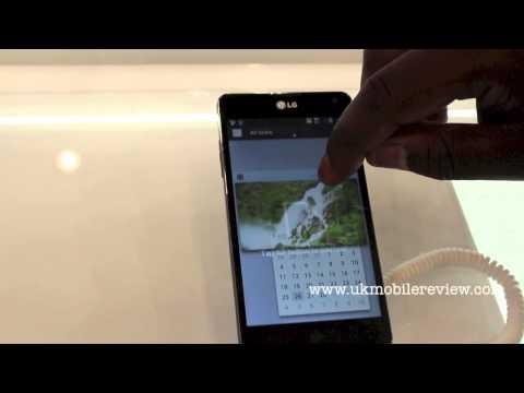LG Optimus G Q-Slide Demo