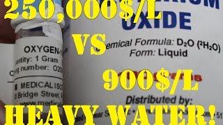 Tasting Heavy Oxygen Water