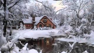 Зима в современной живописи