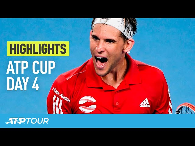 Thiem's Time | Day 4 Highlights | ATP CUP