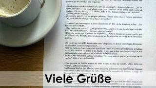 How to close a letter in German - Complimentary Close