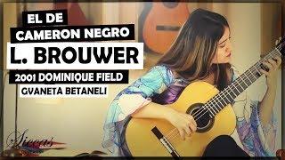 Gvaneta Betaneli plays El Decameron Negro: I. El Arpa del Guerrero by Brouwer on a D. Field guitar