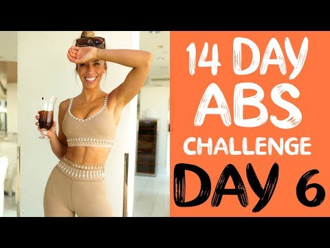 14 DAY ABS CHALLENGE | Workout 6 | FLAT STOMACH BURNER