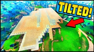 What Happens When You Cover All Of Tilted Towers (Fortnite  Battle Royale)