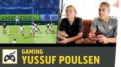 FIFA 17 gegen Yussuf Poulsen | RB Leipzig vs. Eintracht Frankfurt | Kickbox