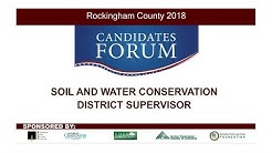 2018 Candidates Forum - Soil And Water Conservation District Supervisor - 9/24/18