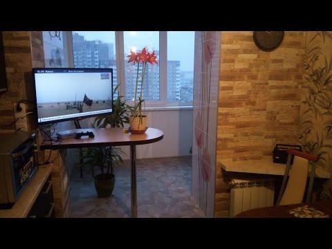 Кухня балкон - youtubec ru.