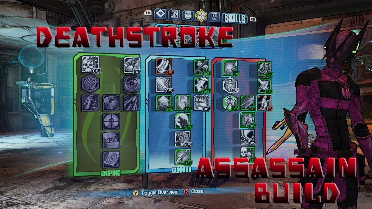 Assassin Borderlands  Best Build