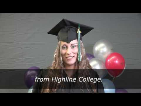 2016 Highline College Graduate Shout Outs