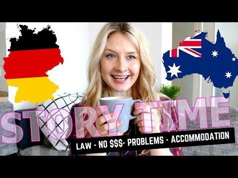 UNIVERSITY IN AUSTRALIA VS GERMANY