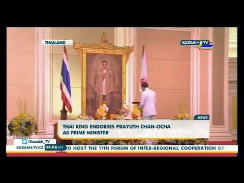 Thai king endorses prayuth Chan-Ocha as Prime minister