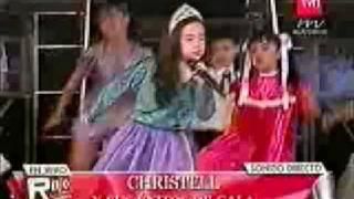 Christell canta Barney, bob Esponja y la Sirenita con sus amigos (vivo gala)