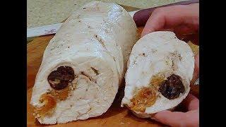 Рулет из куриной грудки - диетический, низкокалорийный рецепт