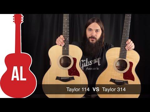 Taylor 114 vs 314 - Laminate vs Solid Wood Comparison