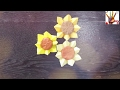 简单折纸 植物 向日葵