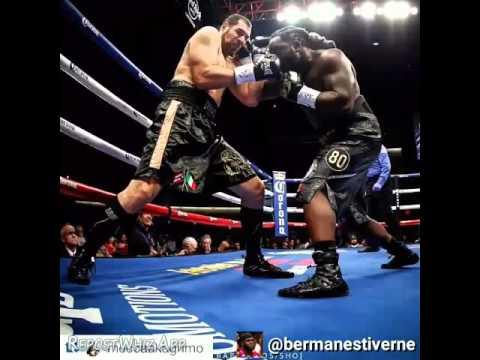 Bermane Stiverne Beats Derric Rossy UNANIMOUS DECISION!!!