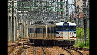 115系快速新潟行が長岡駅を出発する、って言う動画