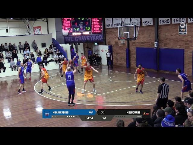 Nunawading vs. Melbourne - Game Highlights