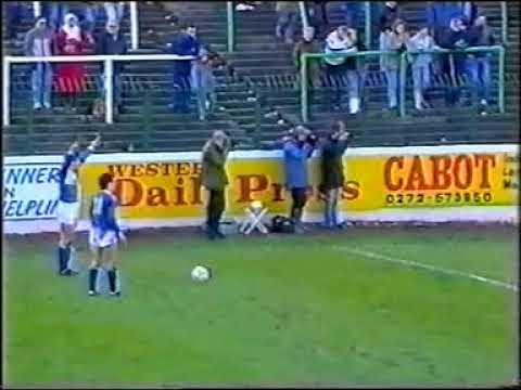 Bristol Rovers V Fisher Athletic, Twerton Park, Nov 1988