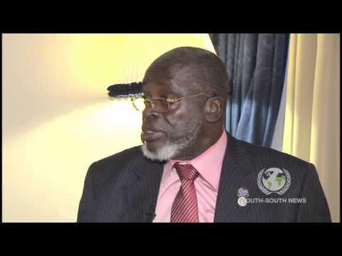 Interview with Malam Bacai Sanha President of Guinea Biassau