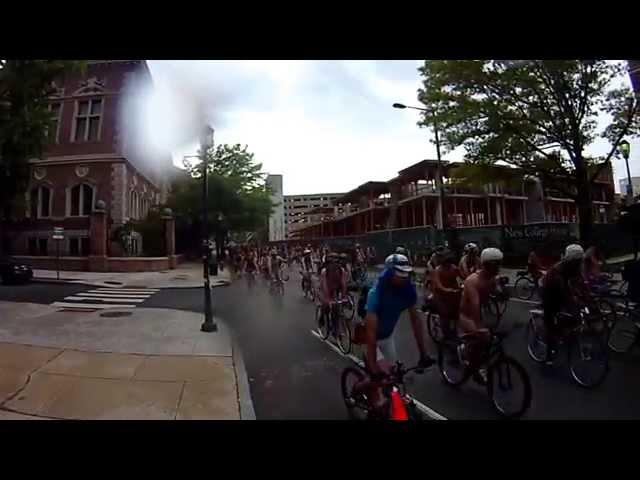 WNBR 2014 tous pays - World Naked Bike Ride (WNBR