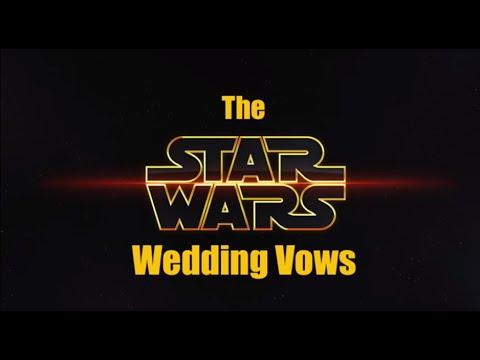 The Star Wars Wedding Vows - Alice & Robert - YouTube