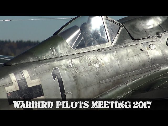 Warbird Pilots Meeting 2017