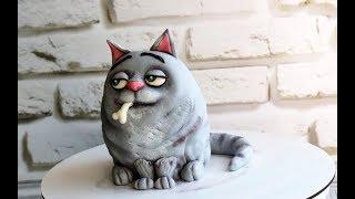 3Д торт КОТ-питомец из мультфильма Тайная жизнь домашних животных