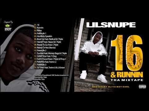 LIL SNUPE God Is Good Feat. C'Nyle & Pimp C (16&RUNNIN)