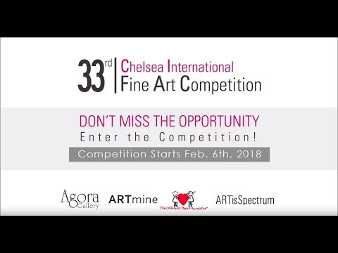 The 33rd Chelsea International Fine Art Competition -Promotional Video