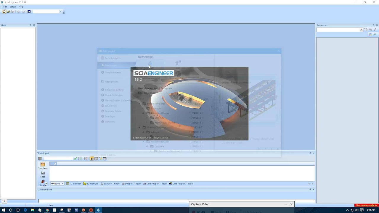 SCIA Engineer Full Course-Part 1: Setup & Project Data