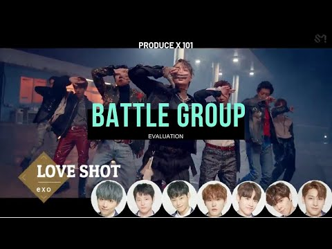PRODUCE X 101 : 1ST EVALUATION OF BATTLE GROUP SONGS