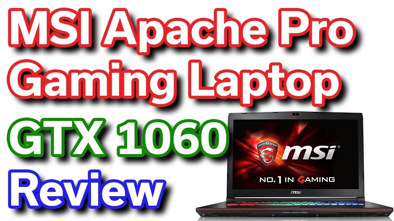 MSI Apache Pro - i7-6700HQ - GTX 1060 6GB - Review