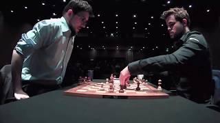 MAGNUS DEFENSE!! MVL vs Magnus Carlsen || Blitz London Chess 2019