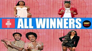 BET★ Awards 2021 - ALL WINNERS (Music) | Black Entertainment Television Awards 2021 | ChartExpress