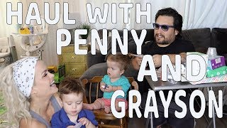 HAUL WITH PENNY AND GRAYSON: VLOG 141