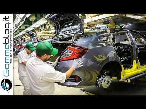 2018 Honda Civic Sedan - CAR FACTORY Production - HOW IT