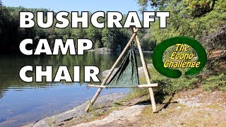 Amazing Wilderness Camp / Hammock Chair (bushcraft Chair)