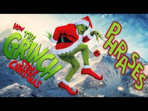 Разбор оригинальной озвучки в Гринч Похититель Рождества. Английские фразы связанные с новым годом.