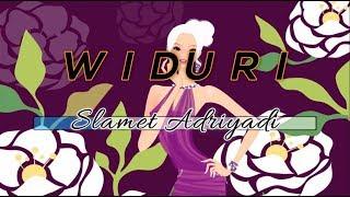 [Midi Karaoke] 🎵 Slamet Adriyadi - Widuri 🎵 +Lirik Lagu [INSTRUMENTAL]