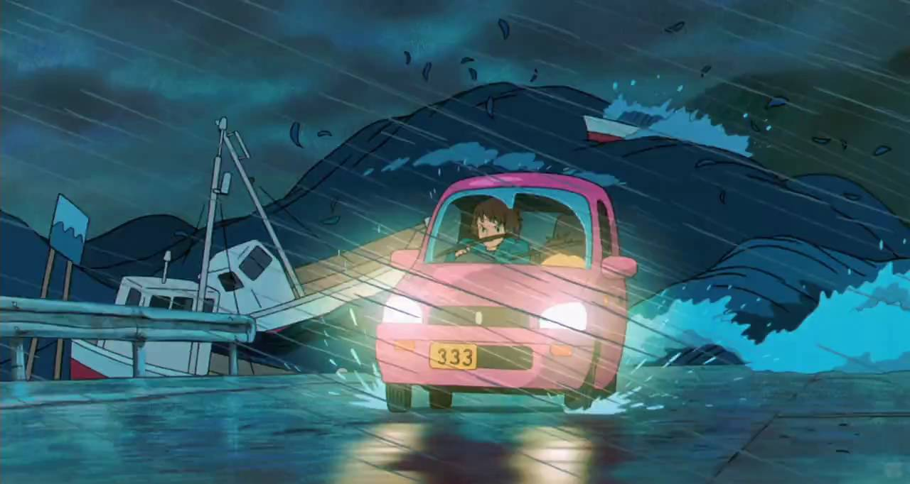 Fall Wallpaper Cartoon Ponyo Theatrical Trailer 1080p Hd Youtube