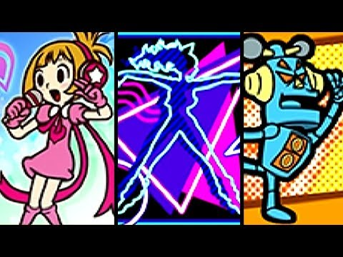 WarioWare Gold ALL SECRET SONGS - With Lyrics (3DS)