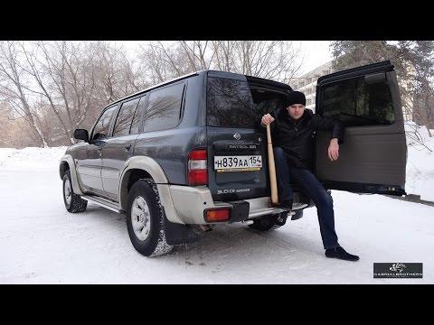 Ниссан патрол тест драйв видео на русском