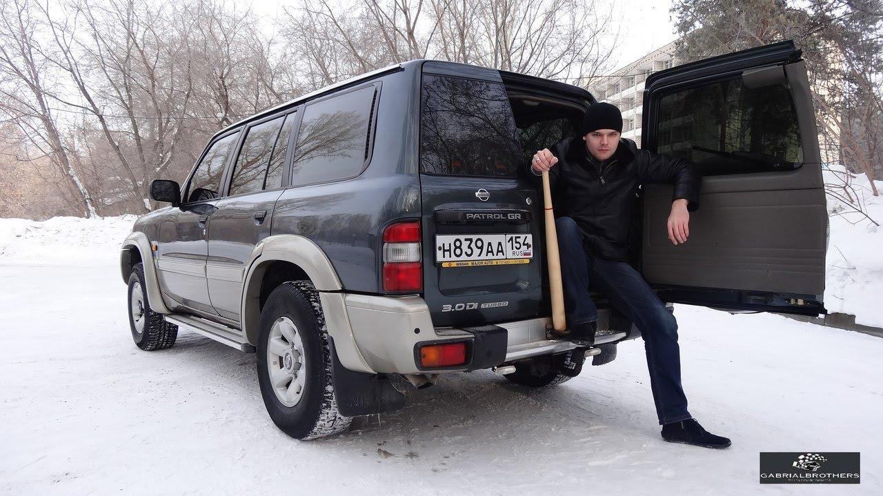 тест драйв nissan patrol, 2008 год дизель